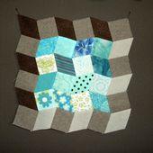Les losanges en patchwork 'MONTICELLO'