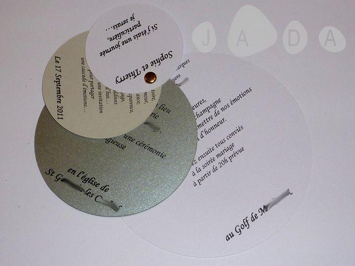 Quelques exemples de nos différents modèles de faire-parts, à retrouver en totalité dans nos différents albums...