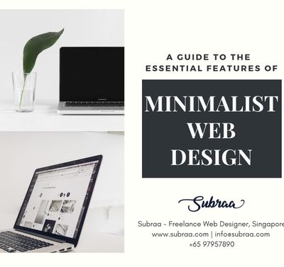 Minimalist Web Design - A Guide To The 4 Essential Features
