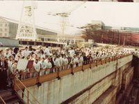 Des images de la 1er commémoration le 6 Février 1982