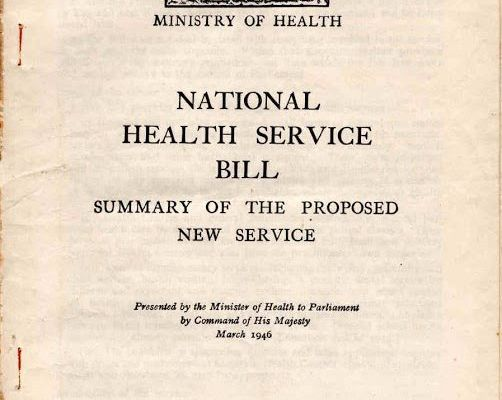 National Health Service for a healthy Britain