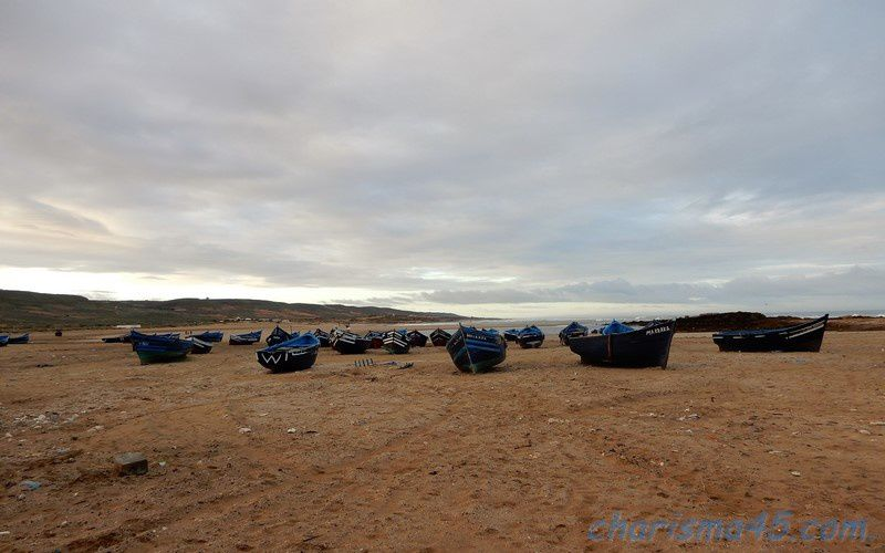 Plage de Bhaibah (Maroc en camping-car)
