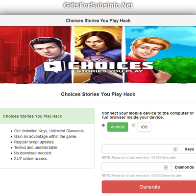Choices Stories You Play Hack Online