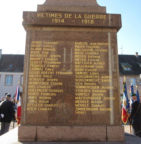monument aux morts Neuf Brisach