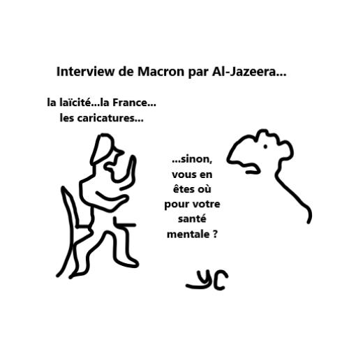 bernieshoot interview macron