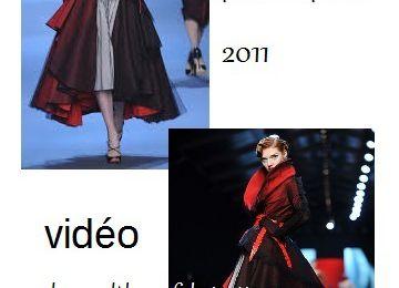 couture en coulisse : Dior 2011, fabrication d'un modèle de a à z.