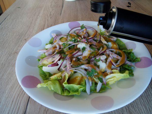 Salade de saucisson Lyonnais