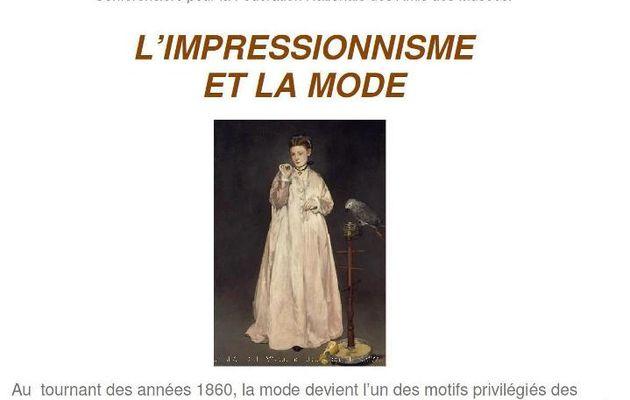 """AVEC """"MAC TOUQUET""""...L'IMPRESSIONNISME ET LA MODE..."""