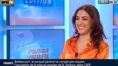 2013 06 04 - ANNA CABANA - BFM TV - PREMIERE EDITION 'POLITIQUE PREMIERE' @06H50