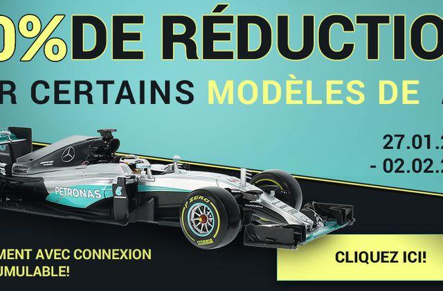 Modelcarworld : 30% de remise sur les Formule 1