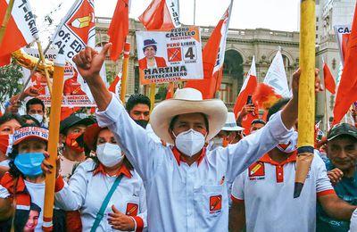 Note sur le programme de Castillo, candidat de gauche présent au second tour de l'élection péruvienne