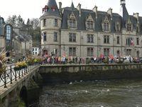 Manifestation des Retraités ce matin à Quimper