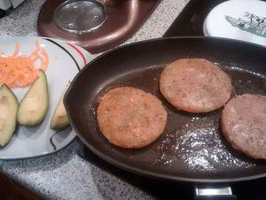 Burger version thaï