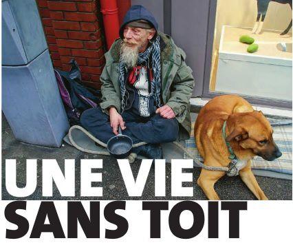 Une vie sans toit à Evreux (Eure)