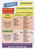 INITIATION CLAQUETTES ET COUNTRY