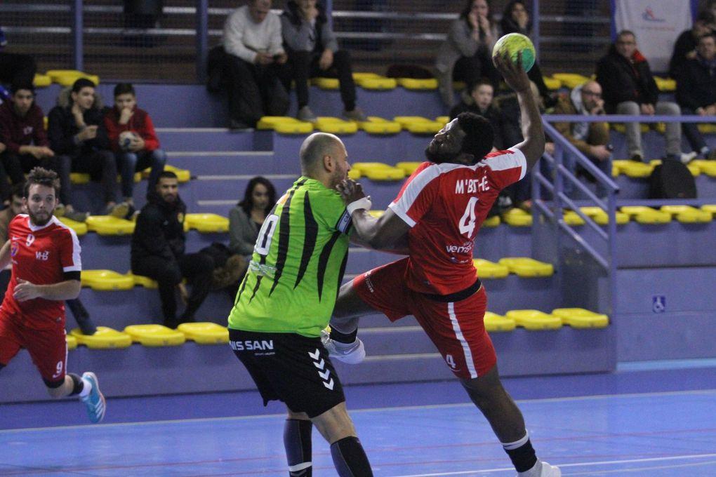 Vénissieux n'a pas réitéré sa performance du 17 novembre dernier en Coupe de France face au leader de N2M