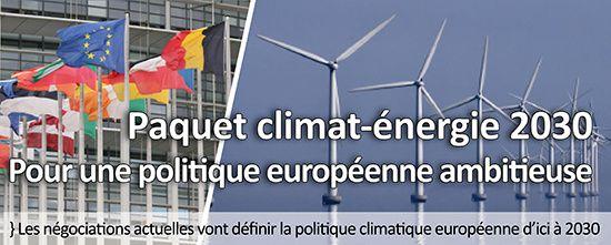 Paquet climat/énergie, des objectifs qui préservent les industriels, mais quid du climat ?