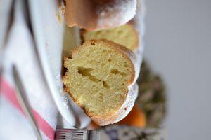 Cake à l'huile d 'olive et orange - ciambella