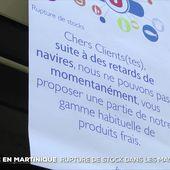 La Martinique commence à manquer de tout à cause de la grève - Le journal de 20h | TF1