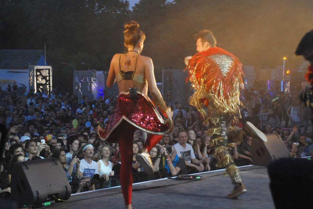 Un aperçu des différents groupes ayant participé au festival.