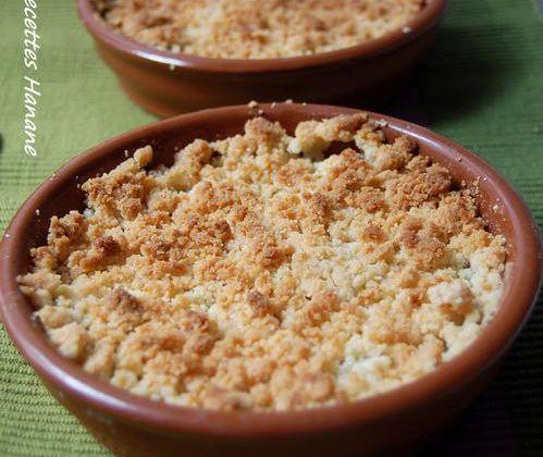 Crumble aux pommes (la recette classique)