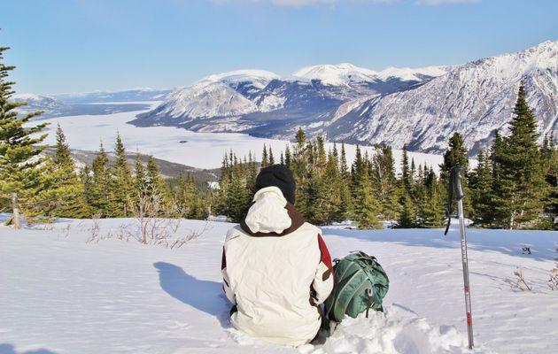Canada - Celui qui randonnait à Sam MacGee en hiver