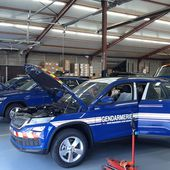 Près de Lisieux, l'entreprise Scorbel transforme des véhicules pour la gendarmerie