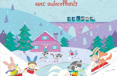 Jouer et découvrir #95 –Noël avec autocollants - Usborne – 2019 (Dès 3 ans)