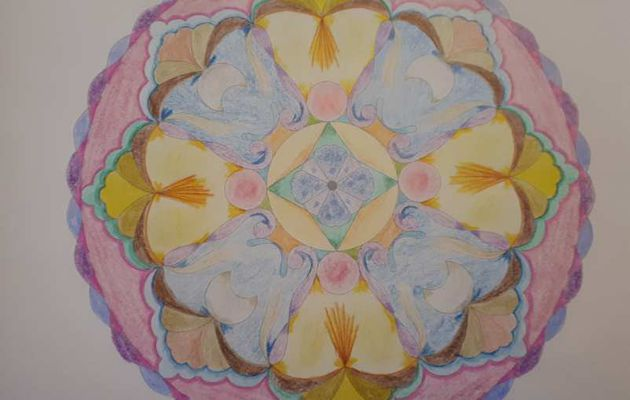 Mandala de l'Obscurité à la Lumière