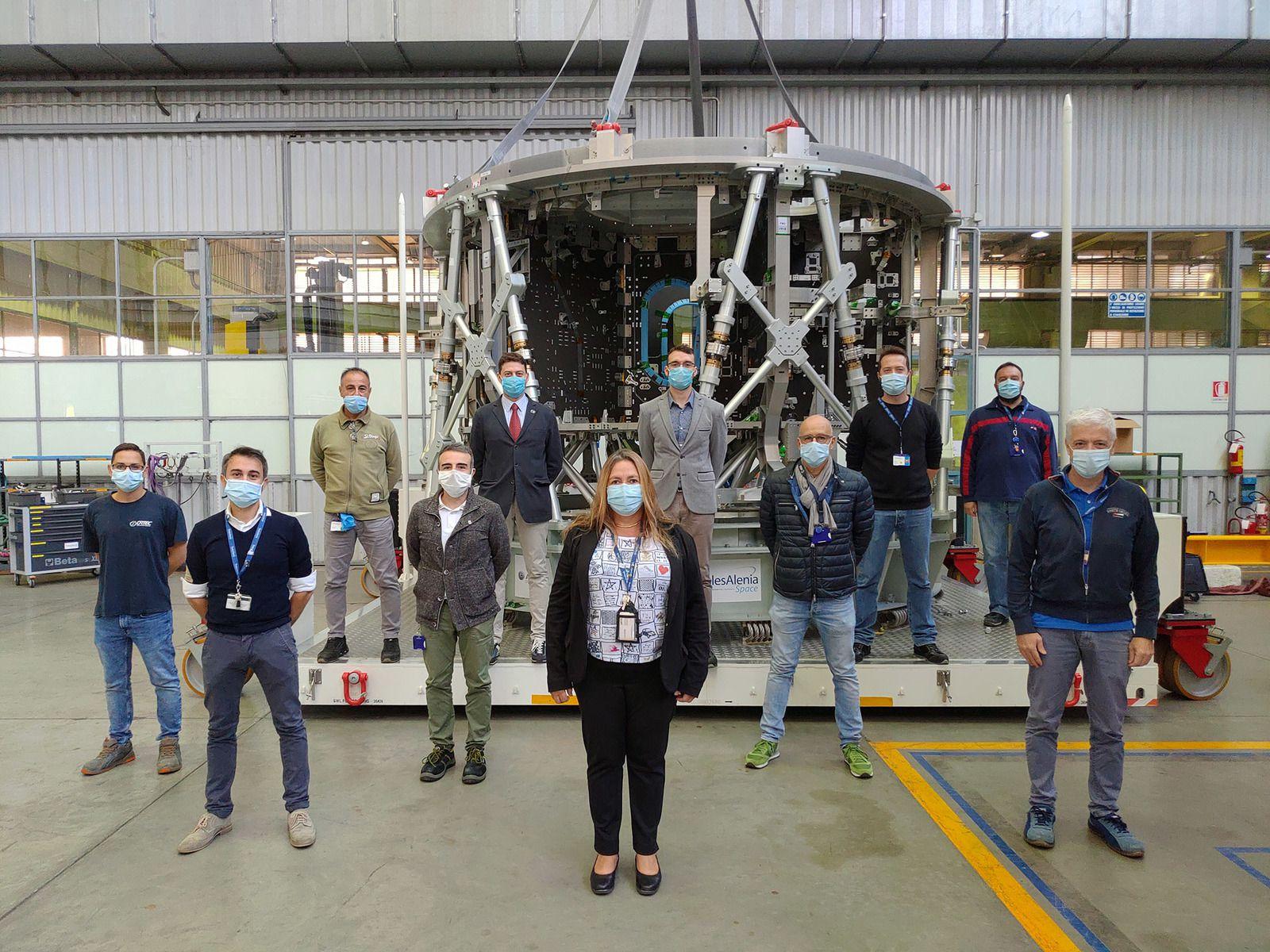 Départ du module de service Artemis III