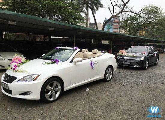 Giá cho thuê xe cưới 4 chỗ Honda Civic giá rẻ nhất tại Hà Nội