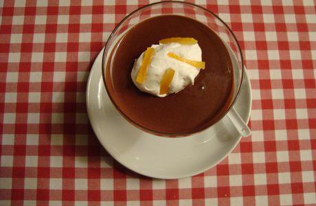 Capuccino de chocolat au Grand Marnier