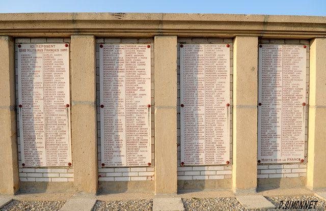 Mémoire de la première guerre mondiale.
