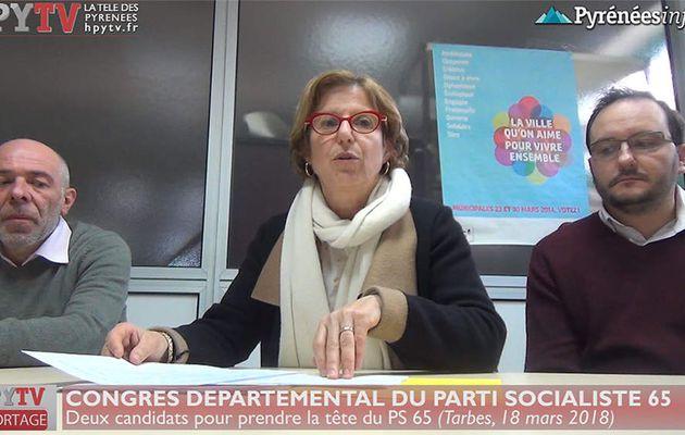 Congrès du PS des Hautes Pyrénées (18 mars 18) | HPyTv La Télé des Pyrénées