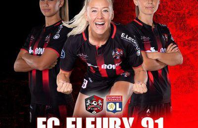 Fleury 91 / Olympique Lyonnais (D1 Arkéma) en direct ce vendredi sur Canal+Sport !