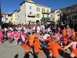 Saint André les Alpes: Le bonhomme hiver a eu chaud…
