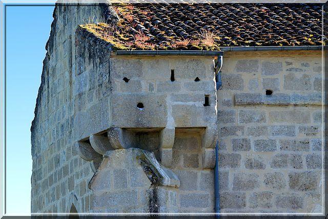 Diaporama église fortifiée de Rimons