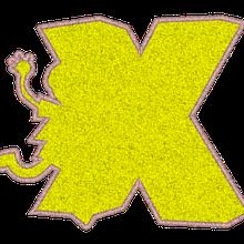 ABC appliqué garçons et filles: la lettre X