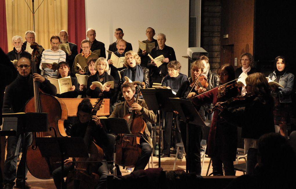 La Passion: ultimes répétitions et concerts à Chaumont, Langres, Montier en Der. Photos Gérard Féron, tous droits réservés