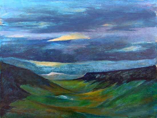 Peintures de Colette Roullin