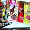 Zeitschriften vom letzten Monat