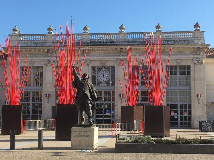 La gare de Valence Ville.