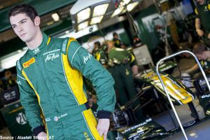 Alexander Rossi devient pilote d'essais pour Caterham