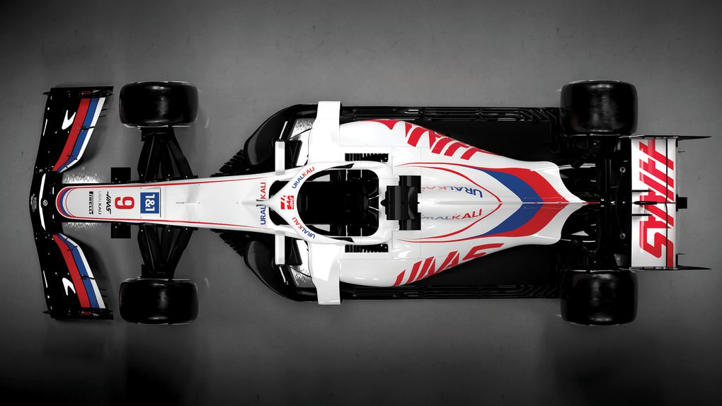 Haas adopte les couleurs russes