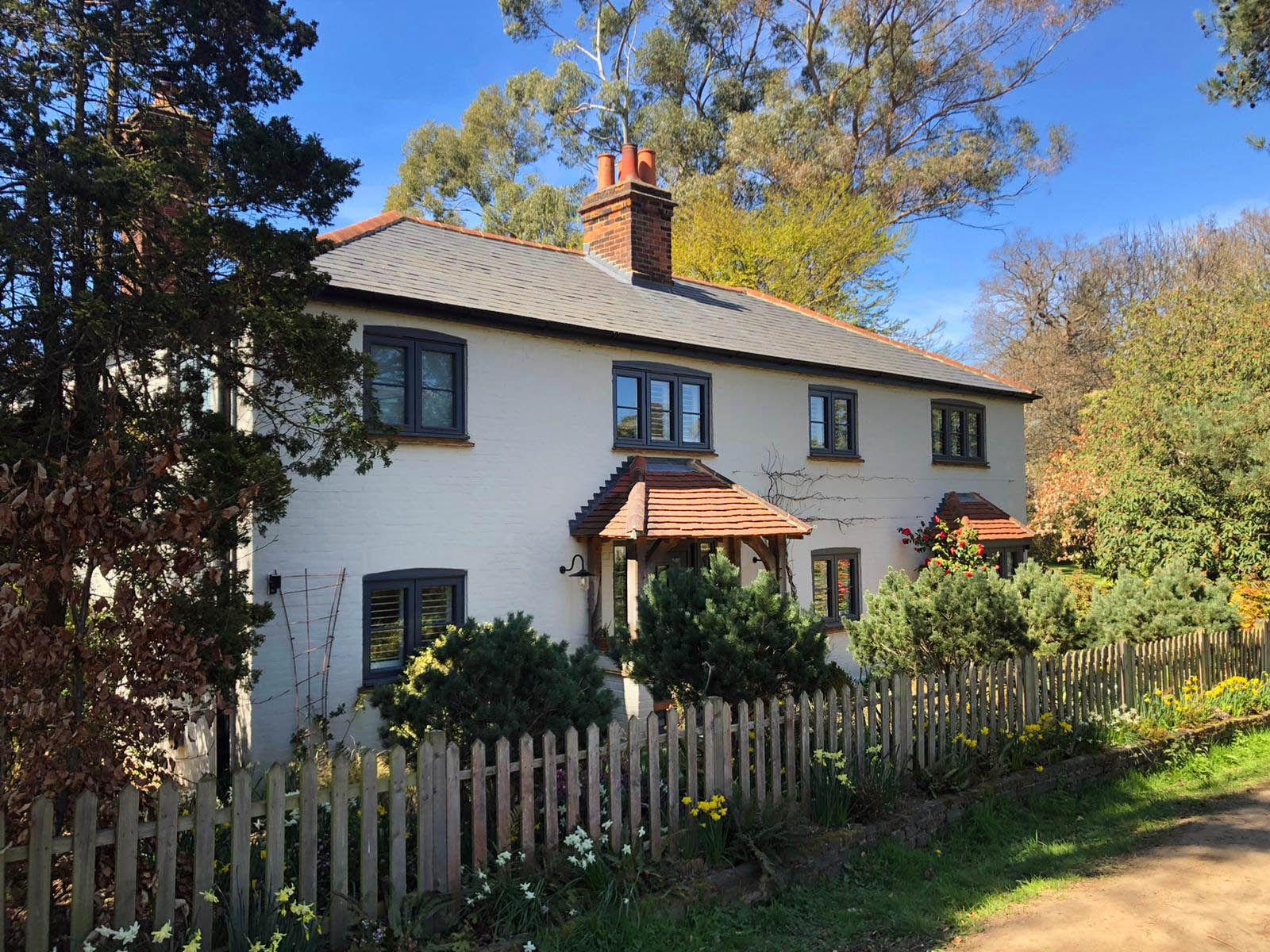Cottages dans le Surrey... en Angleterre