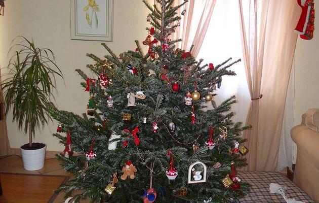 Notre sapin de Noël ...