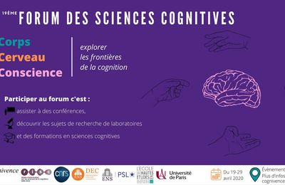 Forum des Sciences Cognitives 2020