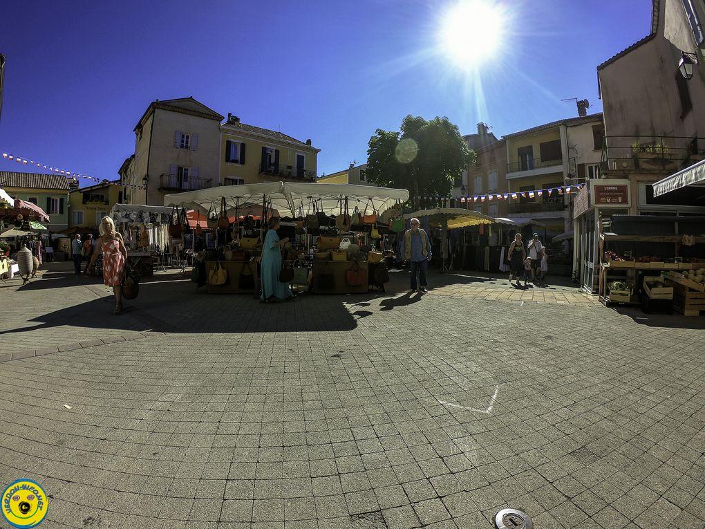 St André les Alpes le marché estival en place