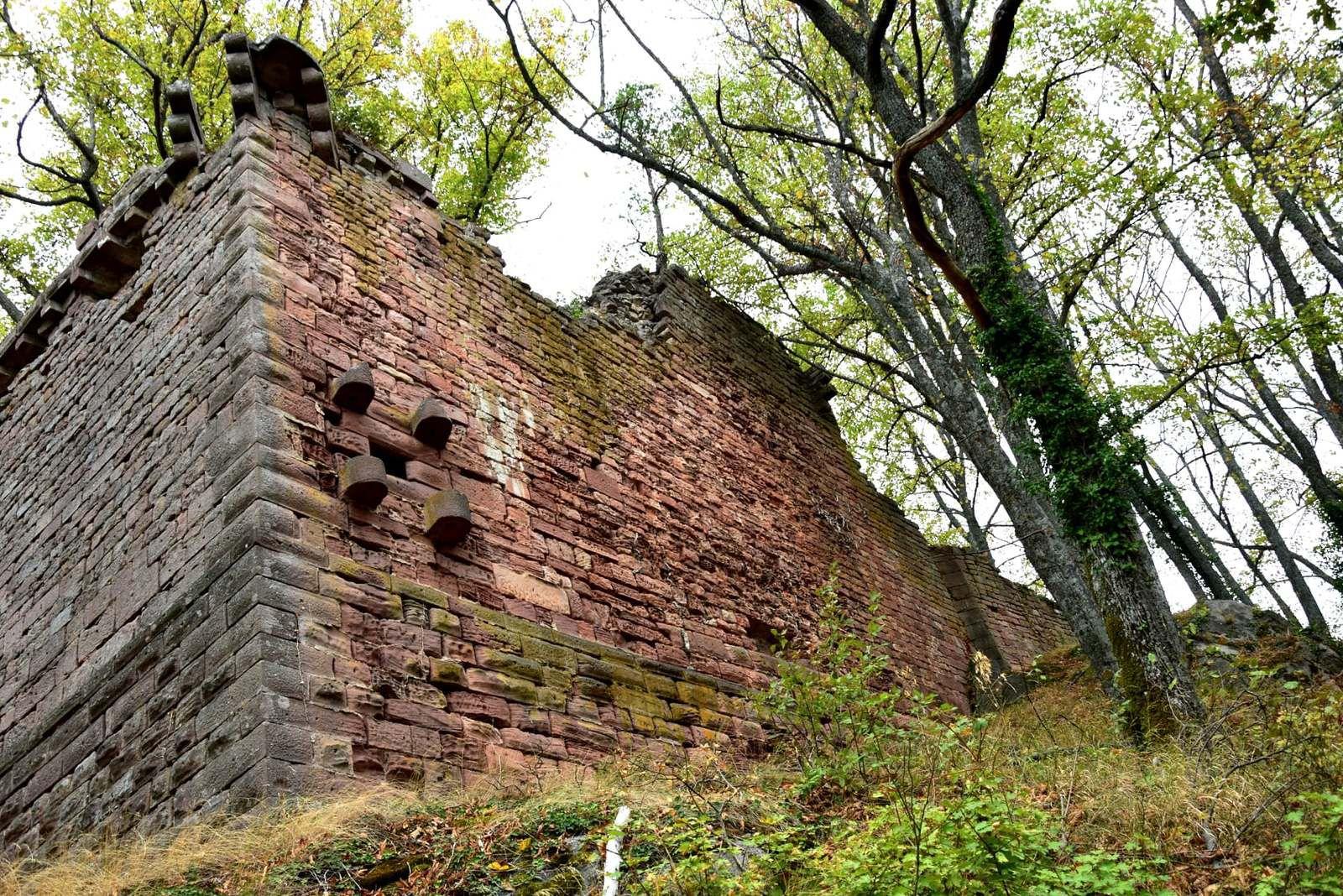 Les murailles du Landsberg
