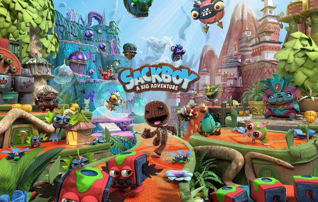 [TEST] SACKBOY A BIG ADVENTURE PS5 : Encore plus fort et plus cool que LITTLE BIG PLANET !